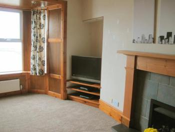 House by the Harbour - NC500 Route - Living Room with Sea Views