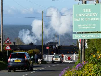 Steam by the Sea - a stones throw from The Langbury