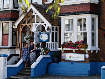 Copperfields Vegetarian Guest House - The Front of the House