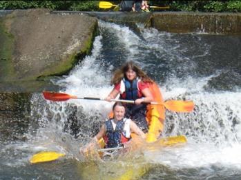 Descente en canoë-kayak