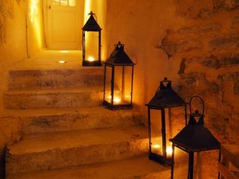 escalier pour la cave