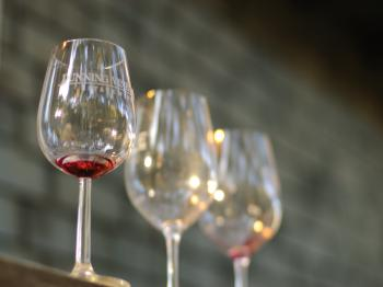 Wine tasting at Dunning Vineyards is complementary for all guests.