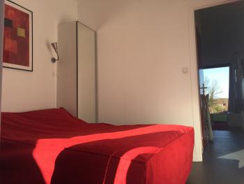 Le Lodge Rouge( Chambre)