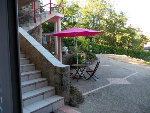 Escalier accès Chambres