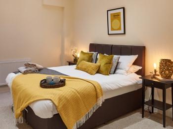 Mustard Bedroom