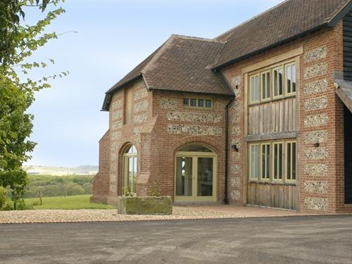 Lodge Farmhouse Entrance