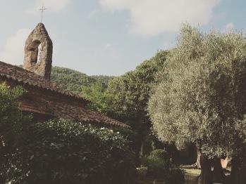 Vue arrière de la Chapelle