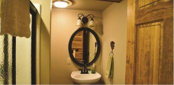 Wilderness Bathroom at Bear Mountain