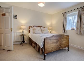 The Meadow double suite on ground floor with private bathroom.