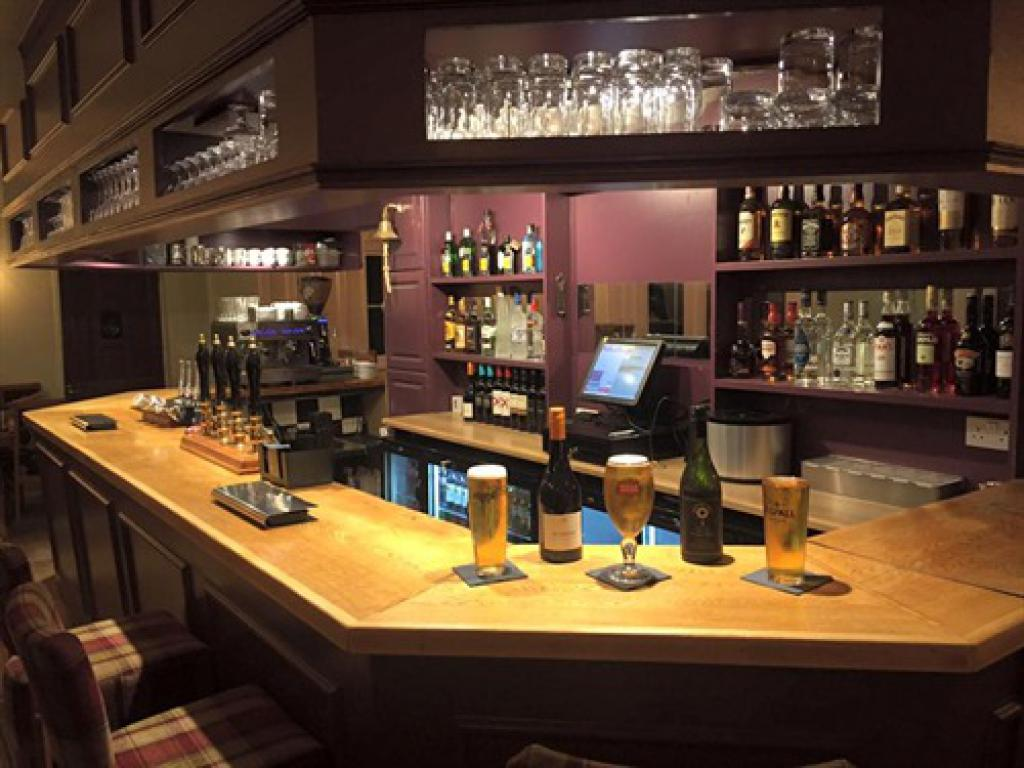 This warm and friendly bar welcomes you to The Volunteer Inn