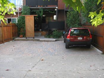 Private off-street parking