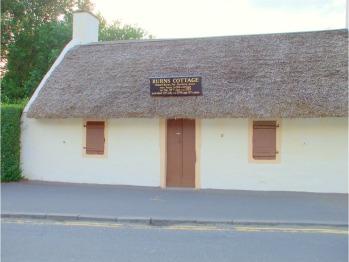Robert Burns' Cottage, Alloway, Near Ayr