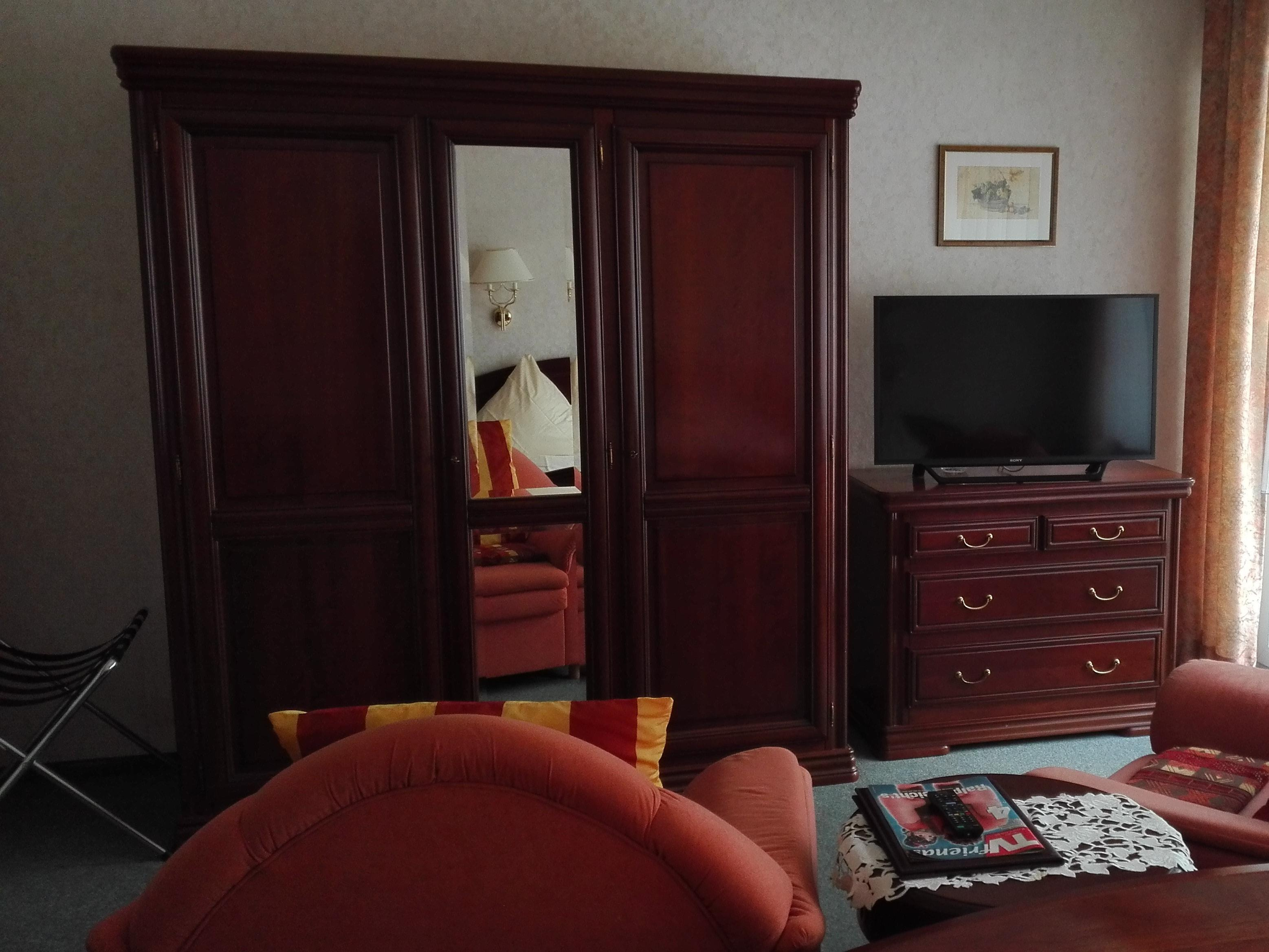 Doppelzimmer-Komfort-Ensuite Dusche-Balkon
