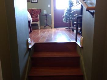Falls Room Entrance Stairs