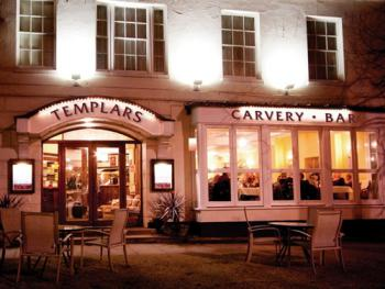 Templars Hotel & Restaurant - Nightime view of Templars