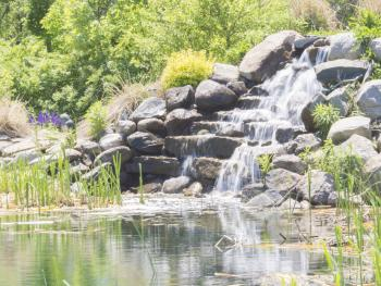 Waterfall on the Pond
