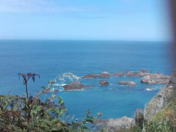 View from Torrs Cliff Walk