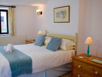 The Master Bedroom in Ivy Cottage