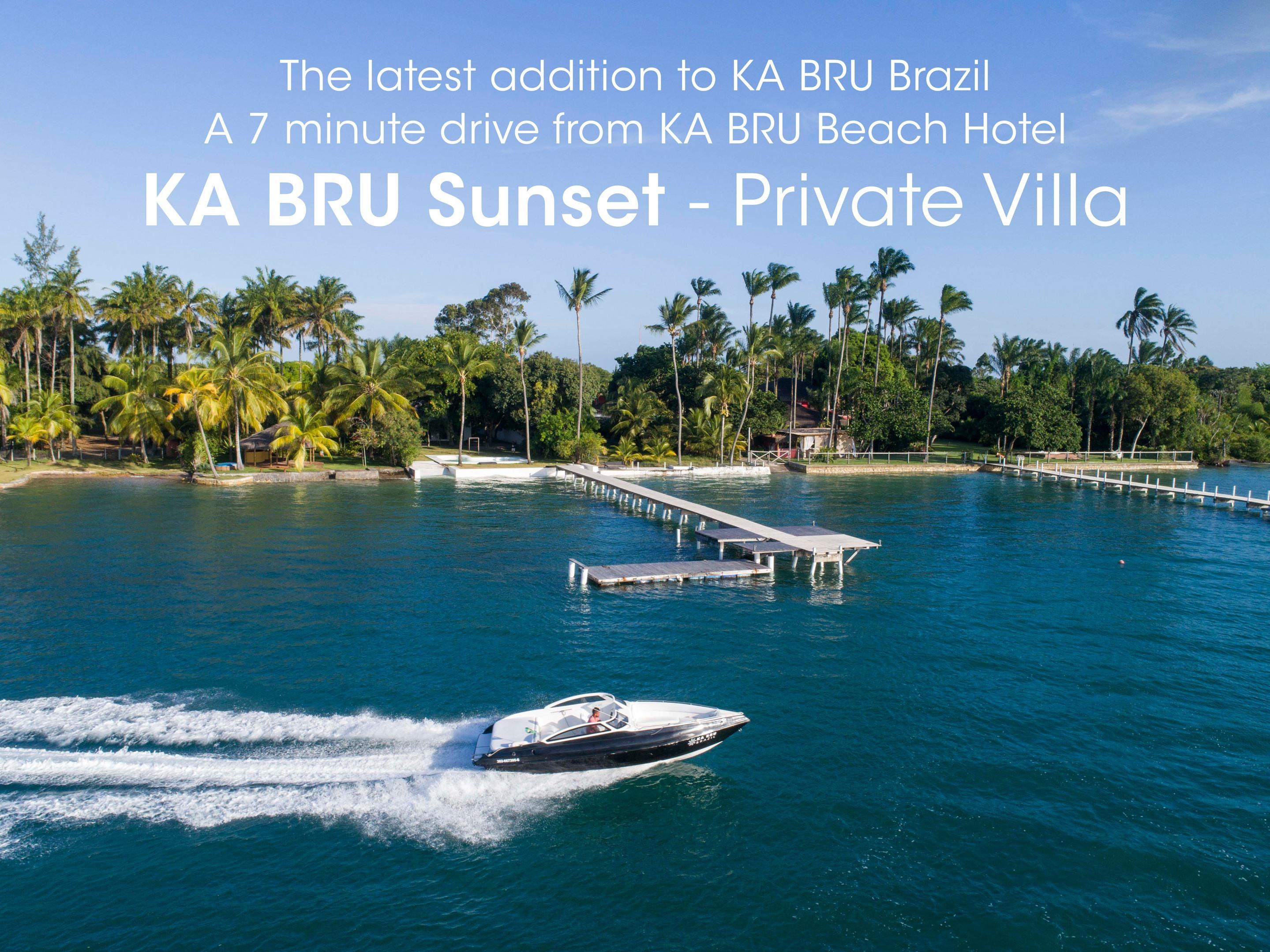 Private Villa Sunset (with ventilators)