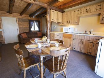 Log Cabin-Private Bathroom-Deluxe-Lake View-Log Duplex