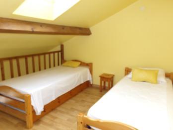 Mezzanine chambre jaune
