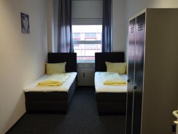 Zweibettzimmer-Gemeinsames Badezimmer
