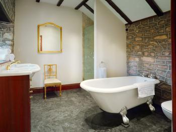 En-suite with bath