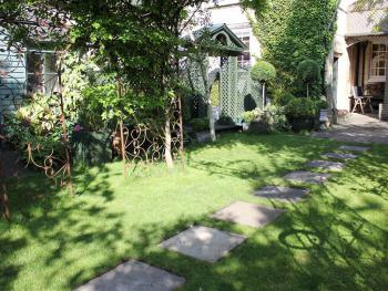 Garden at Oak House No.1