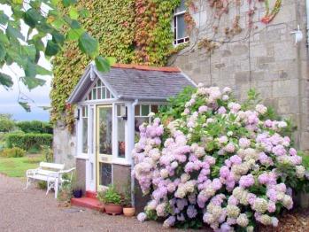 Entrance porch at Carlton Seamill