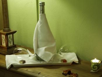 Posada la Rivera de escalante detalle del paquete romántico en la Habitación doble número 5