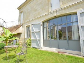 """Porte d'entrée de l'appartement """"Bonheur de Ronsard"""""""