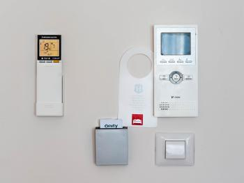 All of our apartments are fitted with A/C, smart cards and portaphones