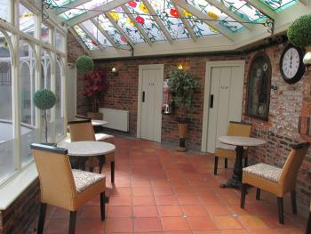 Conservatory our dog friendly area
