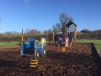 Playground - toddlers area