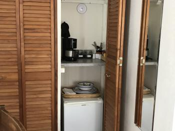 Pisces - Refrigerator and Coffee Station