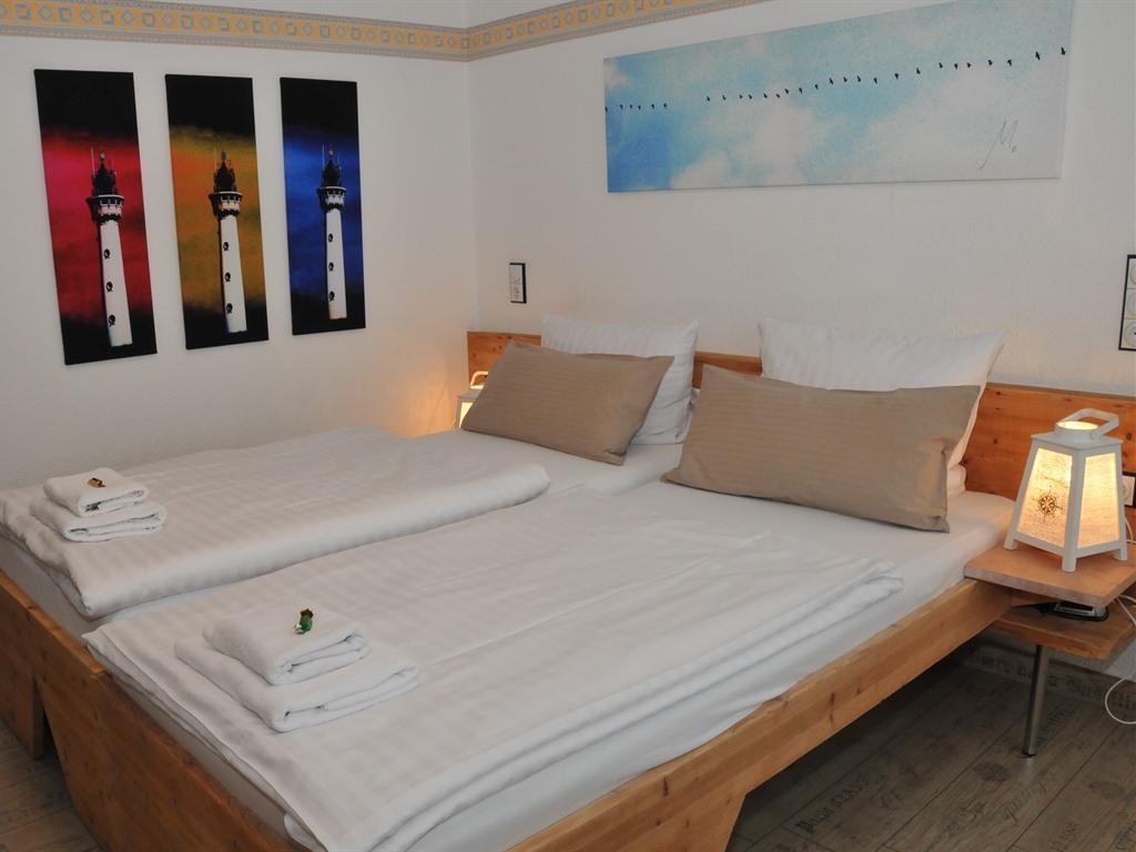 Doppelbett oder zwei Einzelbetten-Ensuite Dusche-Standard 2-Bettzimmer