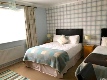 Triple Room – Private Separate Bathroom – (1 double & 1 single bed)