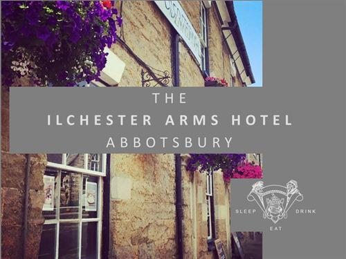 The Ilchester Arms Hotel Front Door Welcomes You