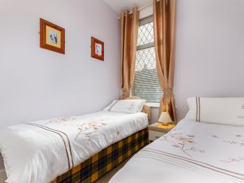 Family Suite (Holly Blue) 2 single beds suitable for ages up to 18