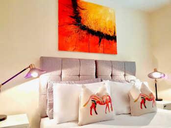 Sutton Heath Lodge - Cushions Master Bedroom