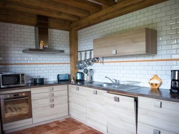 Une cuisine - Gîte - Domaine le Clos du Phare