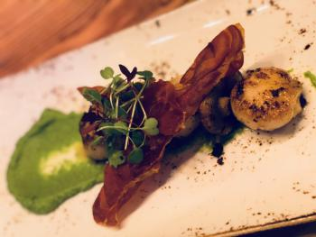 A delicious selection of small plates