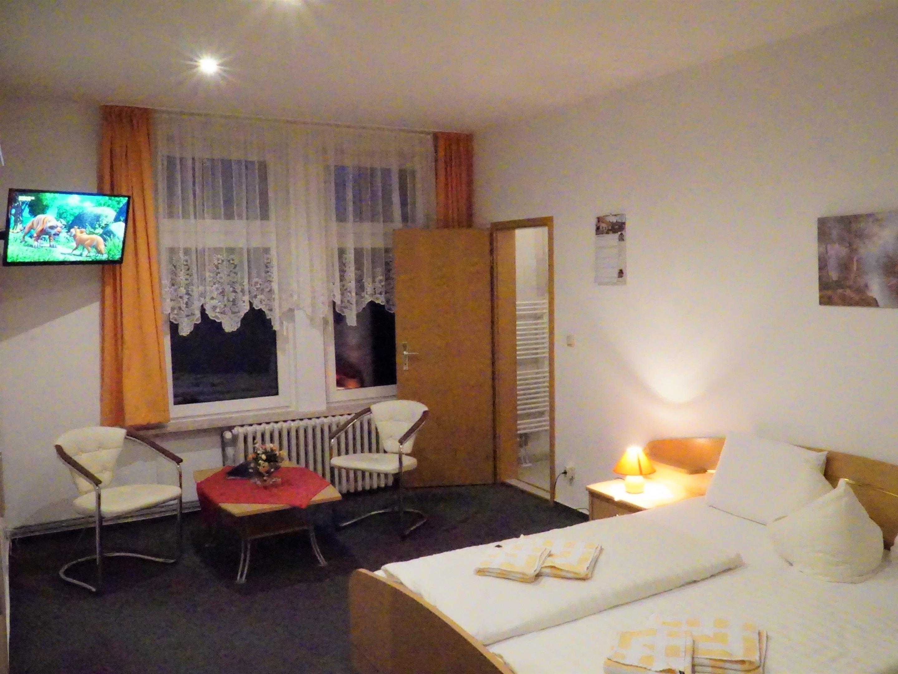 Doppelzimmer-Standard-Ensuite Dusche