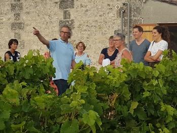 Visite du Domaine les Sadons, notre voisin, en appellation Pauillac