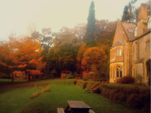 Monkton Wyld Court in the Autumn