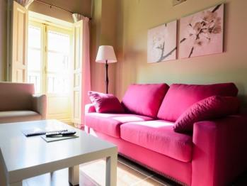 Salón Apartamento nº1 Ducado de medinaceli