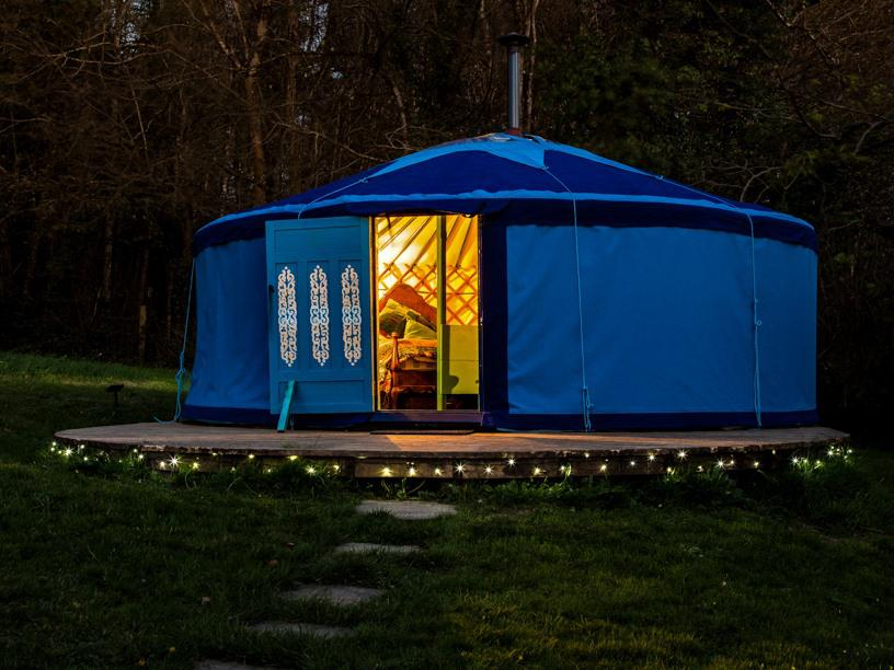 Yurt-Family-Private Bathroom