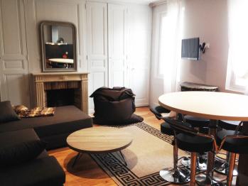 salon de l'appartement familial de L'Octroi