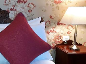 A detail from one of our beautifully decorated rooms.
