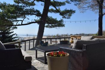 View of Lake Michigan from the Deck